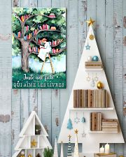 Just A Girl Who Loves Books 24x36 Poster lifestyle-holiday-poster-2