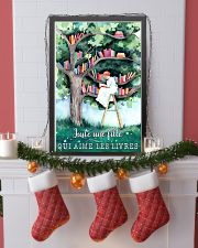 Just A Girl Who Loves Books 24x36 Poster lifestyle-holiday-poster-4