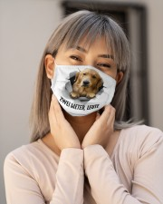 Six feet people Golden retriever Cloth Face Mask - 3 Pack aos-face-mask-lifestyle-17