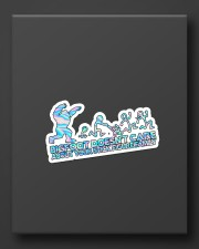 Bigfoot doesn't care Sticker - Single (Vertical) aos-sticker-single-vertical-lifestyle-front-08