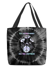 Eat Mushrooms See The Universe All-Over Tote tile