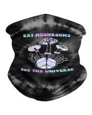 Eat Mushrooms See The Universe Neck Gaiter tile
