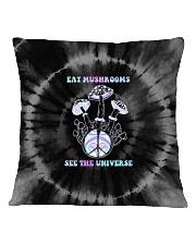 Eat Mushrooms See The Universe Square Pillowcase tile