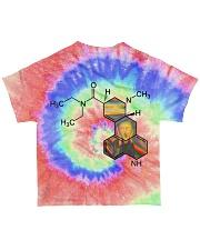 Tie dye LSD All-over T-Shirt back