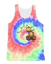 Tie dye LSD All-Over Unisex Tank tile