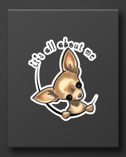 it's all about me chihuahua Sticker - Single (Vertical) aos-sticker-single-vertical-lifestyle-front-08