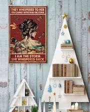 Dragonfly i am the storm 11x17 Poster lifestyle-holiday-poster-2