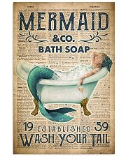 Wash Your Tail 24x36 Poster front