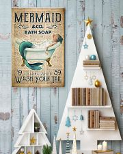 Wash Your Tail 24x36 Poster lifestyle-holiday-poster-2