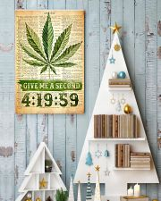 Give me a second 11x17 Poster lifestyle-holiday-poster-2