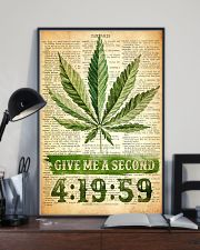 Give me a second 11x17 Poster lifestyle-poster-2