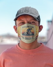 Cycling Dad like a regular dad but cooler Cloth Face Mask - 3 Pack aos-face-mask-lifestyle-06