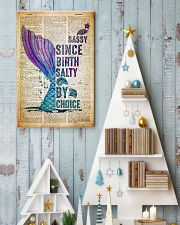 Sassy Since Birth Salty By Choice 24x36 Poster lifestyle-holiday-poster-2