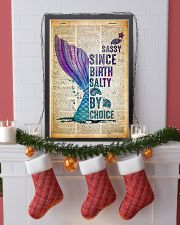 Sassy Since Birth Salty By Choice 24x36 Poster lifestyle-holiday-poster-4