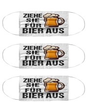 Will remove for beer Cloth Face Mask - 3 Pack front