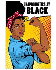 Unapologetically Black 24x36 Poster front