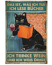 Thats what I do I read books I drink wine 24x36 Poster front