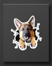 Funny german shepherd breaking glass Sticker - Single (Vertical) aos-sticker-single-vertical-lifestyle-front-08