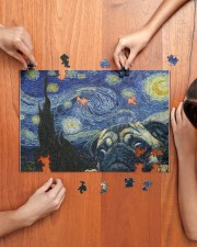 Pug Van Gogh 250 Piece Puzzle (horizontal) aos-jigsaw-puzzle-250-pieces-horizontal-lifestyle-front-07