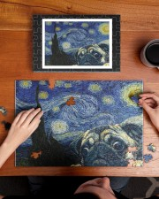 Pug Van Gogh 250 Piece Puzzle (horizontal) aos-jigsaw-puzzle-250-pieces-horizontal-lifestyle-front-11