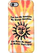 Youre My Sunshine Tie Dye Phone Case tile