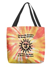Youre My Sunshine Tie Dye All-Over Tote tile