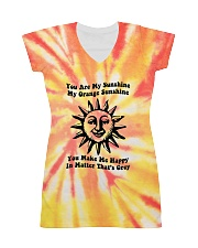 Youre My Sunshine Tie Dye All-Over Dress tile