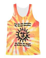 Youre My Sunshine Tie Dye All-Over Unisex Tank tile