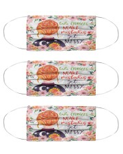 Take chances make mistake get messy Cloth Face Mask - 3 Pack front