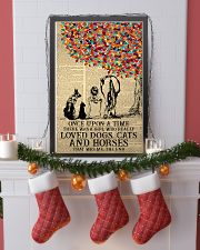 Once Upon A Time Girl Dogs Cats Horses 24x36 Poster lifestyle-holiday-poster-4