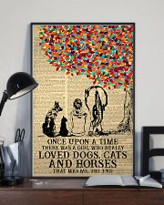 Once Upon A Time Girl Dogs Cats Horses 24x36 Poster lifestyle-poster-2