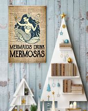 Mimosa Old Dictionary 24x36 Poster lifestyle-holiday-poster-2