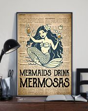 Mimosa Old Dictionary 24x36 Poster lifestyle-poster-2