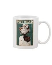 Black Gardener Pot Head Mug tile