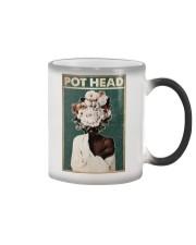 Black Gardener Pot Head Color Changing Mug tile