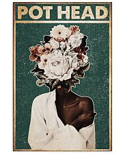 Black Gardener Pot Head 24x36 Poster front