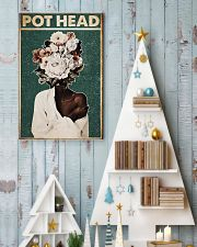 Black Gardener Pot Head 24x36 Poster lifestyle-holiday-poster-2