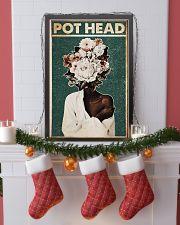 Black Gardener Pot Head 24x36 Poster lifestyle-holiday-poster-4