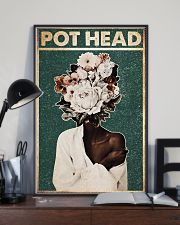 Black Gardener Pot Head 24x36 Poster lifestyle-poster-2