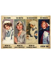 Nurse be strong when you are weak 17x11 Poster front