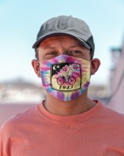 Bicycle day 1943 tie dye Cloth Face Mask - 3 Pack aos-face-mask-lifestyle-06