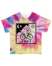1943 Hofmann Bicycle Day Take A Trip All-over T-Shirt front
