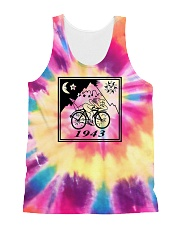 1943 Hofmann Bicycle Day Take A Trip All-Over Unisex Tank tile