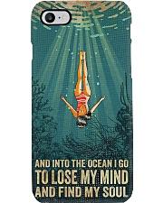 Diving Lose My Mind Find My Soul Phone Case i-phone-8-case