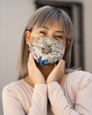 Mental Be Kind To Your Mind Cloth Face Mask - 3 Pack aos-face-mask-lifestyle-17