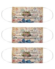 Mental Be Kind To Your Mind Cloth Face Mask - 3 Pack front