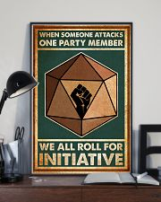 When Someone Attacks One Party Member 24x36 Poster lifestyle-poster-2