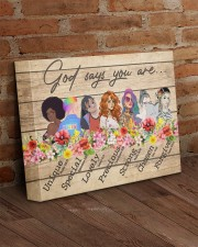 God Says You Are 14x11 Gallery Wrapped Canvas Prints aos-canvas-pgw-14x11-lifestyle-front-09