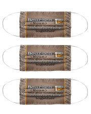 Bourbon The Glue Holding This 2020 Shitshow Cloth Face Mask - 3 Pack front