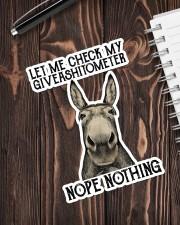 Let Me Check My Giveashitometer Sticker - Single (Vertical) aos-sticker-single-vertical-lifestyle-front-05